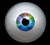 изображение глаза шарика цифровое Стоковые Изображения