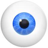 изображение глаза шарика Стоковое Изображение