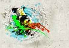 Изображение граффити Стоковая Фотография