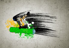 Изображение граффити Стоковое фото RF