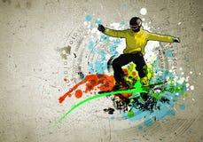 Изображение граффити Стоковые Изображения