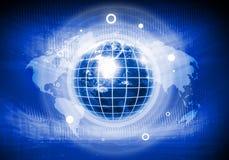 Изображение глобуса цифров Стоковое Фото
