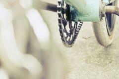 Изображение деталей велосипеда bmx Стоковая Фотография