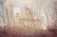 Изображение замка Братиславы Стоковая Фотография