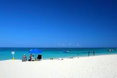 Изображение запаса пляжного клуба Выдалбливать доктора, Montego Bay, ямайки Стоковые Изображения