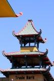 Изображение запаса Чайна-тауна, Сан-Франциско Стоковая Фотография