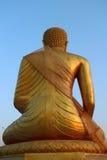 Изображение задней стороны Будды Стоковые Фото