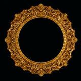 изображение зеркала рамки богато украшенный Стоковые Фото