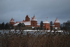 Дворец Traikai Стоковая Фотография