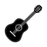 Изображение значка гитары Стоковая Фотография RF