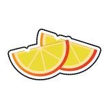Изображение значка клин лимона бесплатная иллюстрация