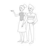 изображение значка пар женщины человека Стоковое Фото
