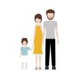 Изображение значка семьи Стоковое Фото