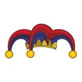 Изображение значка характера арлекина Стоковые Изображения