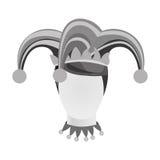 Изображение значка характера арлекина Стоковое Изображение RF