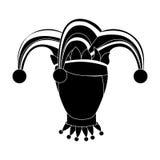 Изображение значка характера арлекина Стоковая Фотография