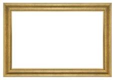 изображение золота рамки Стоковая Фотография