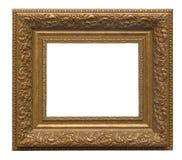 изображение золота рамки Стоковое Изображение