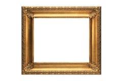 изображение золота рамки Стоковые Изображения