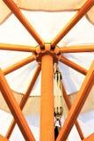 Изображение зонтика пляжа, праздник концепции Стоковые Фотографии RF