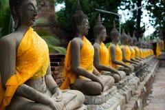 Изображение известного виска Будды Стоковое Фото