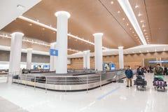 Изображение интерьера аэропорта стоковые фотографии rf