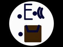 Изображение искусства электронной почты Стоковые Фотографии RF