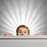 изображение идеи принципиальной схемы 3d представило Стоковая Фотография