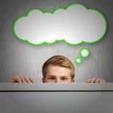 изображение идеи принципиальной схемы 3d представило Стоковые Изображения