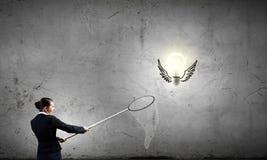 изображение идеи принципиальной схемы 3d представило Стоковые Фото