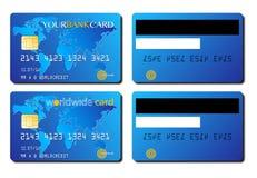 Принципиальная схема кредитной карточки Стоковое фото RF