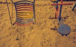 изображение качания в парке Стоковые Фото