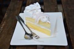 изображение кокоса торта предпосылки вполне заполненное Стоковые Фотографии RF