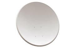 изображение компьютера антенны 3d произведенное тарелкой представляет спутник Стоковые Фото