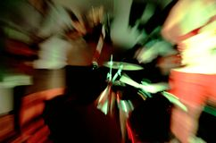Изображение конспекта утеса силы Стоковая Фотография