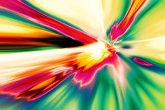 Изображение конца вверх по красочному цветку орхидеи с запачканной предпосылкой бесплатная иллюстрация
