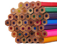 Multicolor карандаши Стоковая Фотография
