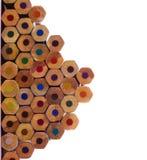 multicolor карандаши Стоковое фото RF