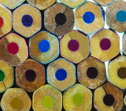 multicolor карандаши стоковая фотография rf