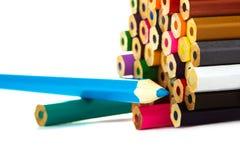 multicolor карандаши Стоковые Изображения