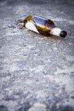 Изображение концепции алкоголизма Стоковое Изображение