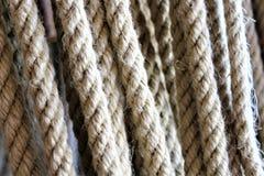 Изображение концепции веревочки - веревочек, оборудования Стоковые Изображения
