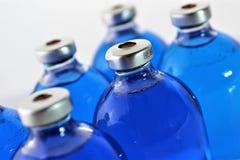 Изображение концепции некоторой бутылки медицины впрыски Стоковое Фото