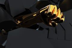 Изображение концепции прорыва CG бесплатная иллюстрация