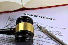 Изображение концепции силы юриста, дела, юриста Стоковая Фотография RF