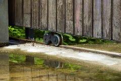 Изображение колеса парадного входа Стоковое Изображение RF