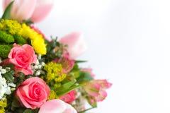 Изображение красивого красочного букета свежих цветков Стоковые Фото