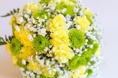 Изображение красивого красочного букета свежих цветков Стоковое фото RF