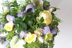 Изображение красивого красочного букета свежих цветков Стоковые Изображения RF