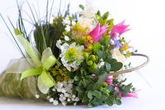 Изображение красивого красочного букета свежих цветков Стоковая Фотография